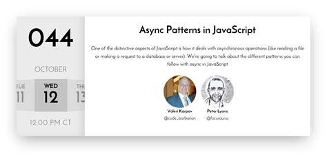async pattern js javascript air async patterns in javascript