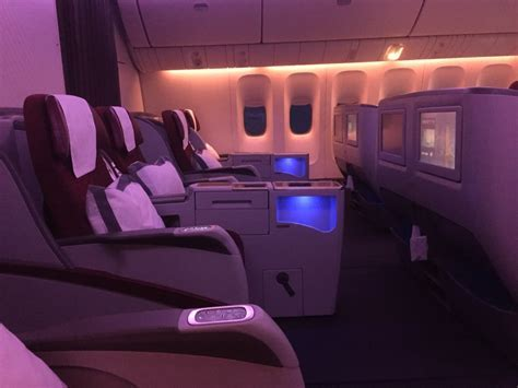 Review: Qatar Airways Business Class 777 300ER HAN BKK