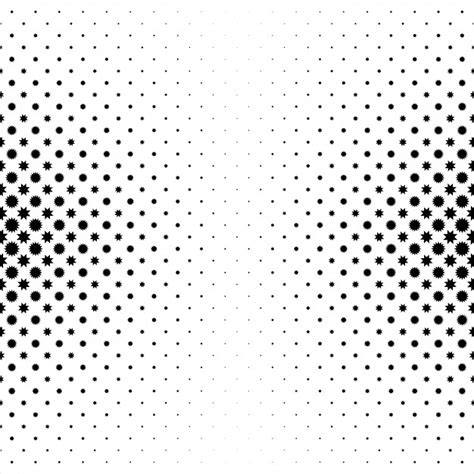 pattern white free black and white star pattern vector free download
