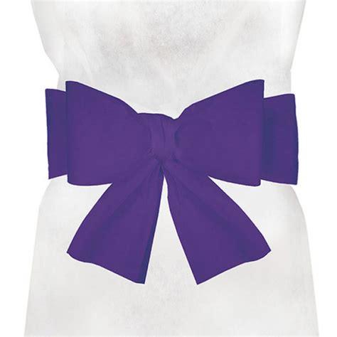 noeud de chaise violet noeuds violet pas cher pour housses de chaise jetables de