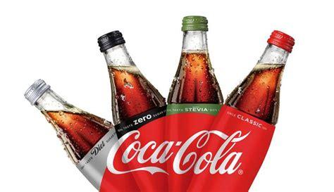 product layout of coca cola coca cola unites brand portfolio with new visual product