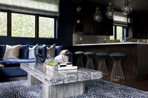 brandon barre blue kitchen breakfast bar light blue high search viewer hgtv