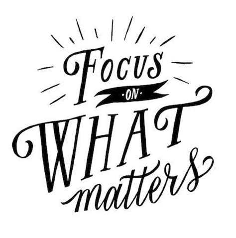 master your focus focus on what matters ignore the rest speed up your success books gps guide 12 mantras that encourage a positive