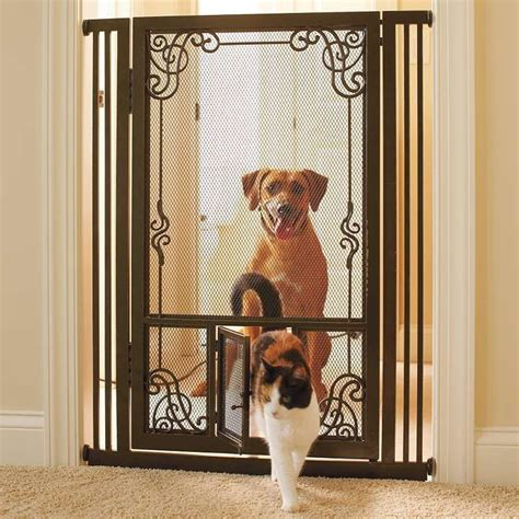 mesh dog gates house 22 best images about pressure mounted pet gates on pinterest extra wide pet gate