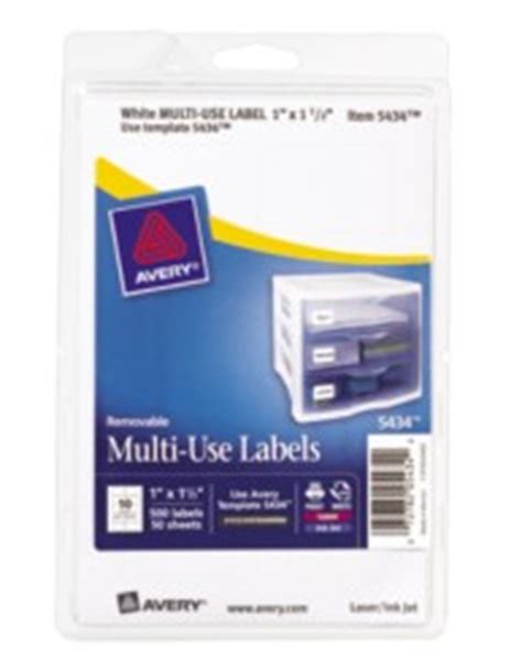 avery multiuse labels