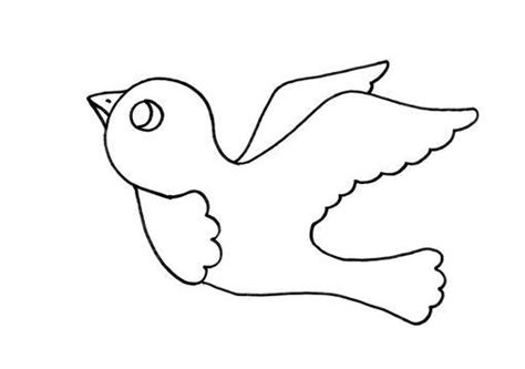 imagenes faciles para dibujar de pajaros dibujos de p 225 jaros infantiles y faciles de dibujar imagui