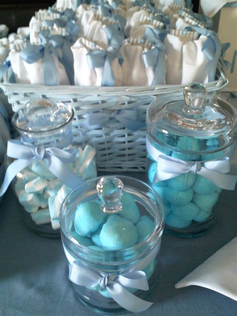 baptism table decoration for guests