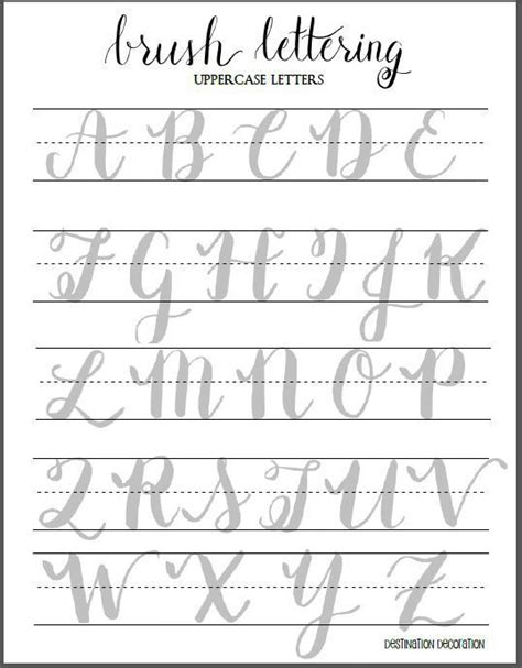 printable hand lettering fonts 5 tips to make amazing hand lettering art letter