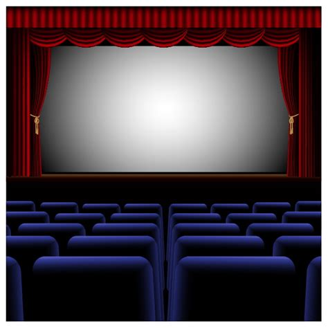 templates powerpoint cinema create an elegant theater interior with illustrator
