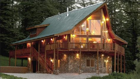 17 best images about log home floor plans on