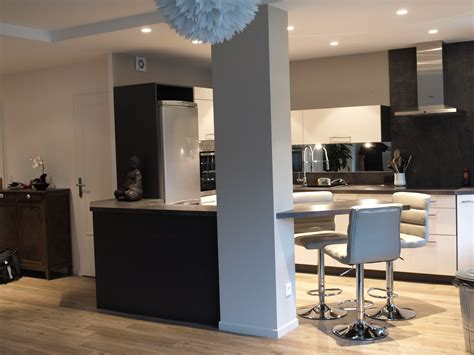 cuisines ouvertes sur salon photos cuisines ouvertes sur salon cuisine id 233 es de