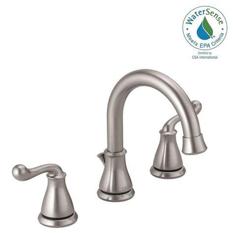 delta southlake 8 in widespread 2 handle bathroom faucet