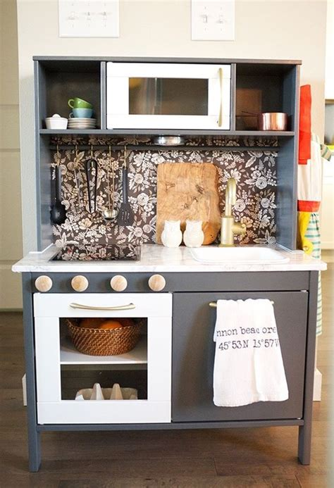 diy ikea play kitchen hack kitchen hacks cabinets and pinterest the world s catalog of ideas