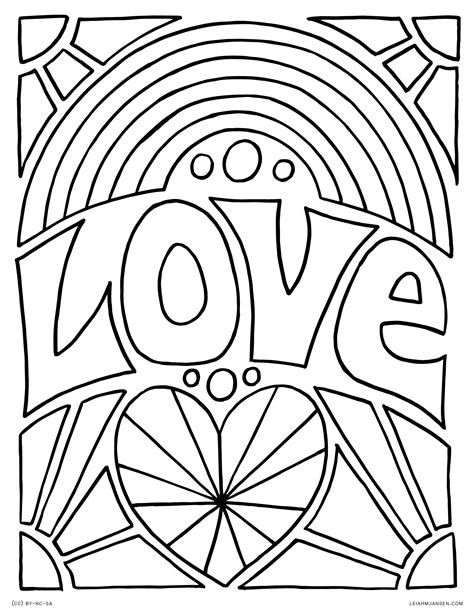 rainbow coloring page for adults rainbow coloring pages for adults inspirational rainbow