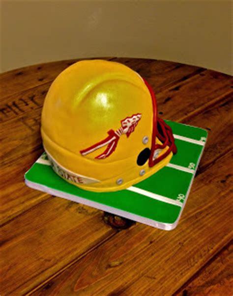 helmet design cake sweet t s cake design fsu football helmet 3d sculpted cake