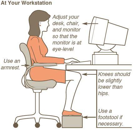 how to keep good posture at a desk desk posture