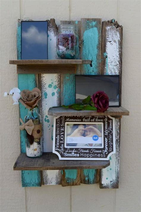 diy pallet decorative wall shelf 99 pallets