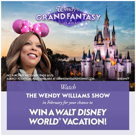 Wendy Williams Giveaway - wendy s grand fantasy giveaway the wendy williams show