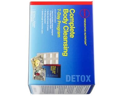 Does Detox From Gnc Work by Gnc Preventive Nutrition Complete Cleansing Program