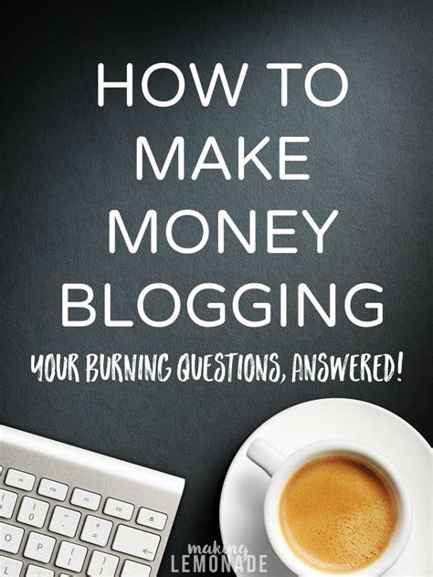 Make Money Online Blogging Free - free software