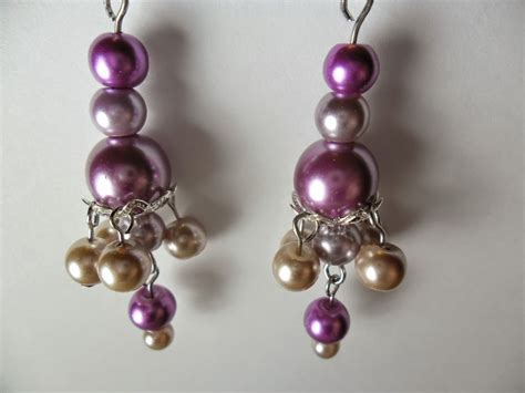 diy beaded earrings tutorial diy bead cap earrings tutorial