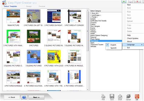 easy flyer creator 2 0 by peridot technologies desktop