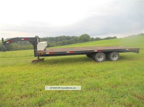 flat bed trailers gooseneck flatbed trailer