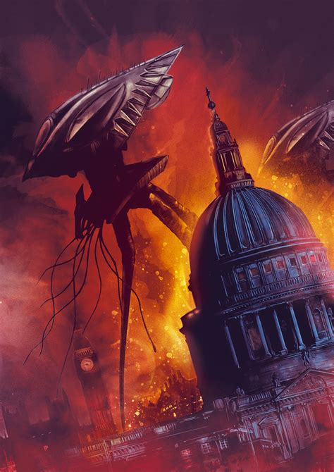 the worlds war war of the worlds no text poster posse