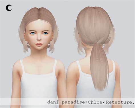 childs hairstyles sims 4 sims 4 hairs kalewa a chloe child hair retextured