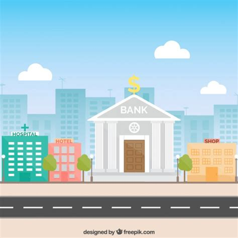 free bank bank building vector free