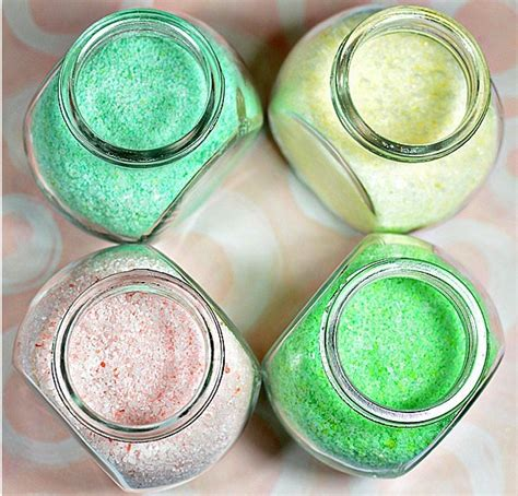 Easy Handmade Diy Bath Salts - top 10 diy valentines gift ideas fly me to the clouds