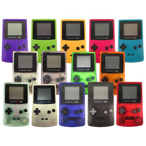 refurbished nintendo boy color console retro