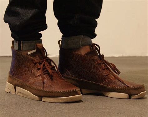 Sepatu Clarks Boots Brown clarks trigenic dune search sneakers shoes