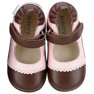 Baby Shoes Emily robeez tredz emily infant toddler pastel pink 16 20 months 5 5 6 5 m us