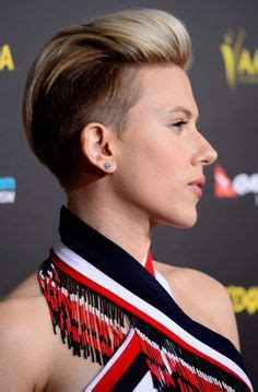 scarlett johansen extreme hircut 1000 images about short undercuts like miley cyrus on