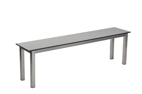 stainless steel bench stainless steel changing room benches benchura