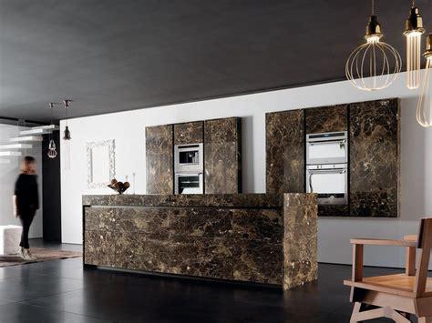 cucina di marble cucina in marmo con isola essential emperador