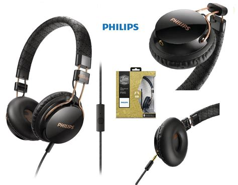 Philips She3705 Stereo Earphone With Mic Headset Headphone She 3705 philips citiscape black headphones w mic leather headband