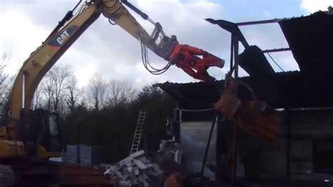 implosion full version 1 1 0 cisaille de demolition promove sur pelle 320d gillet tp