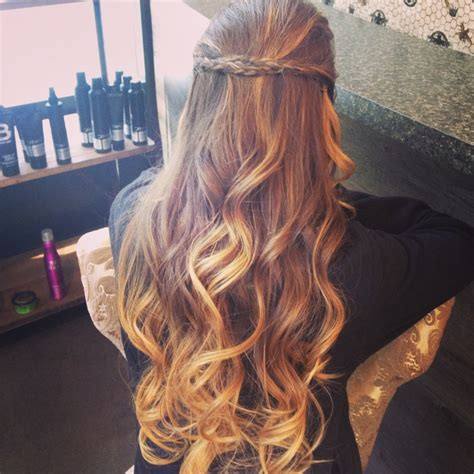 Ombre Prom Hair   prom hair ombre curls hair pinterest