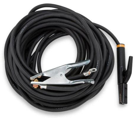 1 welding cable miller welding cable set 2 0 50 ft 173851
