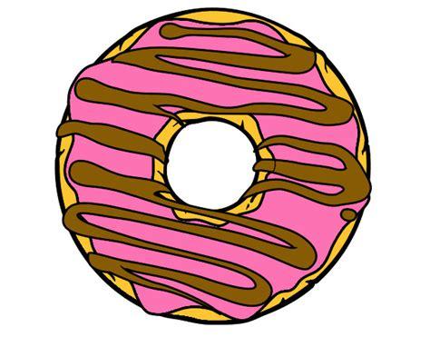 imagenes de rosquillas kawaii dibujo de rosquilla pintado por tashaly en dibujos net el