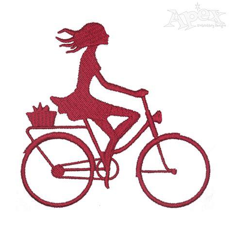Applique Design 2362 by Bike Embroidery Design