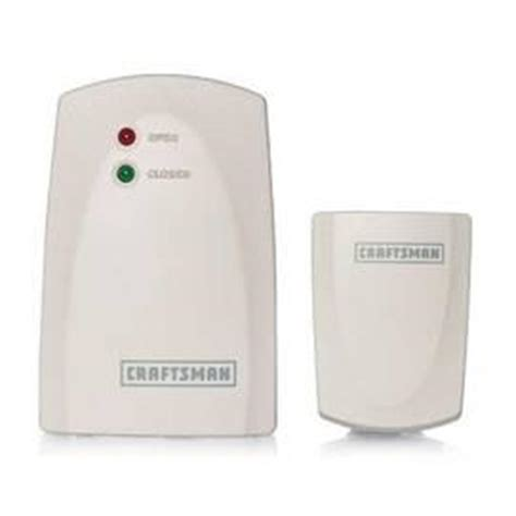 Wireless Garage Door Monitor by New Craftsman Wireless Garage Door Monitor Etobicoke