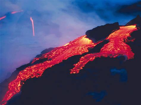 Tv Wall Design fond d ecran volcan image 650 wallpaper