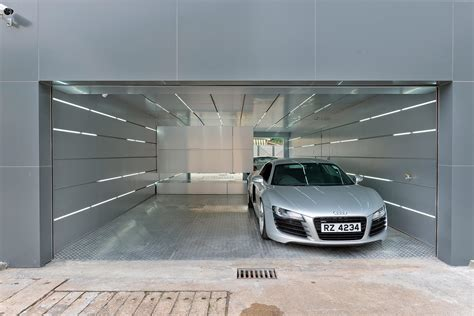 beleuchtung garage dise 241 o de casa moderna dos pisos construye hogar