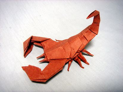How To Make A Paper Scorpion - scorpion