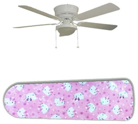 hello ceiling fan pink hello 52 quot ceiling fan and l contemporary