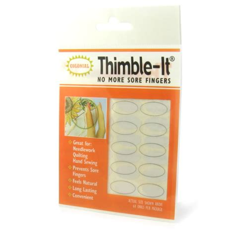 Thimble Pads Quilting by Thimble Its Stick On Quilting Thimbles