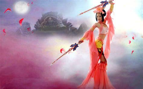 dynasty warrior girl desktop background